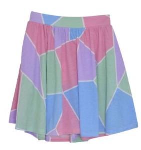 多色使いスカート